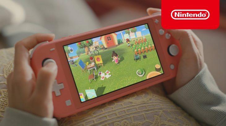「あつまれ どうぶつの森 × Nintendo Switch Lite」 2020春 CM(任天堂公式ch)