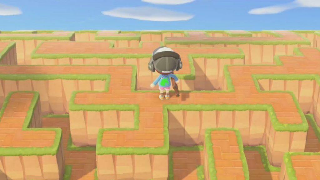 【あつ森】巨大迷路がある島がすごすぎた!【あつまれどうぶつの森】(みねっと)