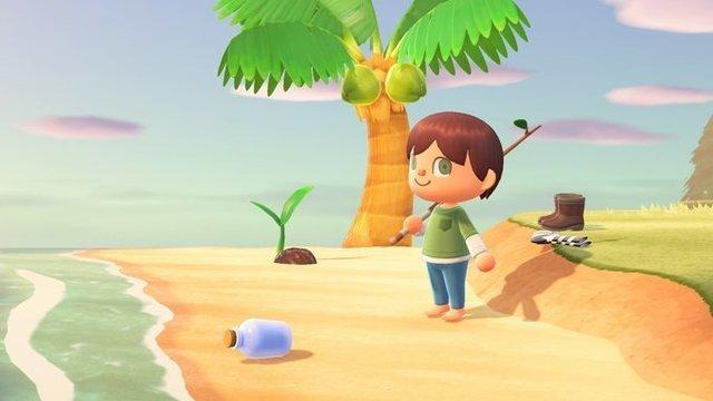 【あつ森】ボトルメッセージこそ無人島同士のやりとりで一番映えると思うんだけどな…【どうぶつの森 まとめ】(どうぶつの森まとめ速報)