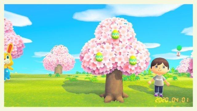 【あつ森】桜の何が怖いってイースター前に終わるとこなんだよなぁ…【どうぶつの森 まとめ】(どうぶつの森まとめ速報)