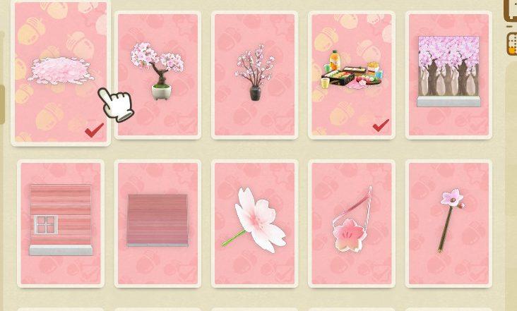 【どうぶつの森】桜レシピ集めで遅れた…徹夜すれば間に合うかな?(色んなまとめ)