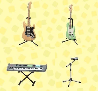 【どうぶつの森】楽器家具使いたいけどどうすればいいかな?(色んなまとめ)