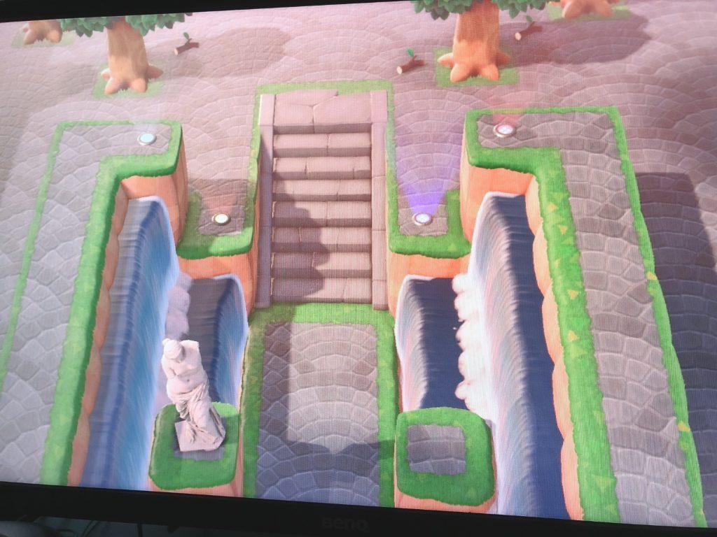 【どうぶつの森】博物館への道作ったけど、このスペースに置く良いものないかな?(色んなまとめ)