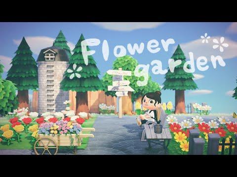 【あつ森】シュガートース島にお花畑を作りました【島整備】【あつまれどうぶつの森】【実況】(くるみ)