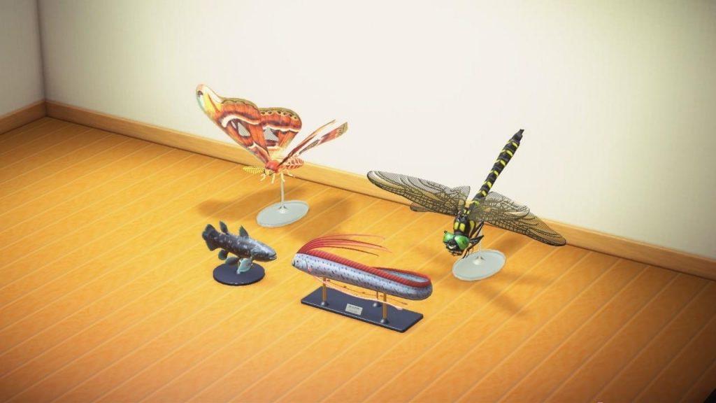 【どうぶつの森】虫と魚の模型、レックスの情熱が違いすぎるw(色んなまとめ)