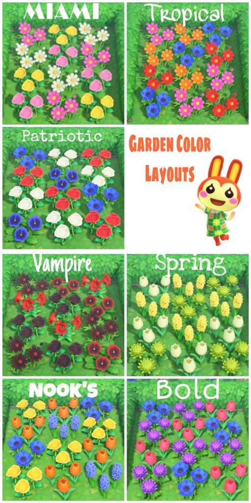 【どうぶつの森】いろんな種類に花並べて植えるのもきれいだね(色んなまとめ)