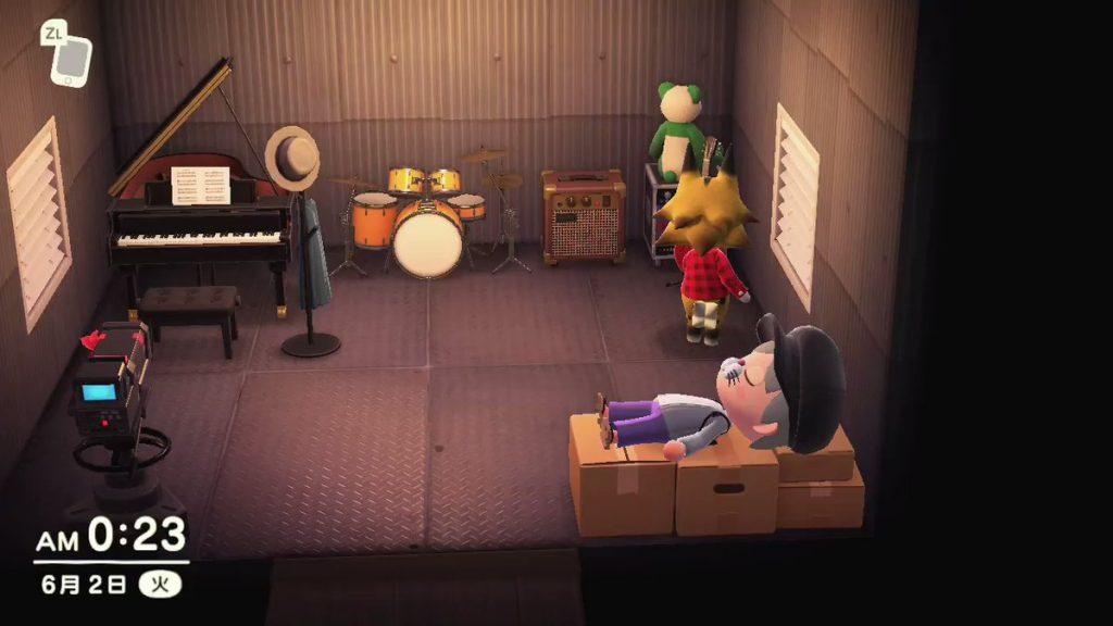 【あつ森】ギター飾ってるようなロックな住人を招待したいんだけどオススメいる?(色んなまとめ)