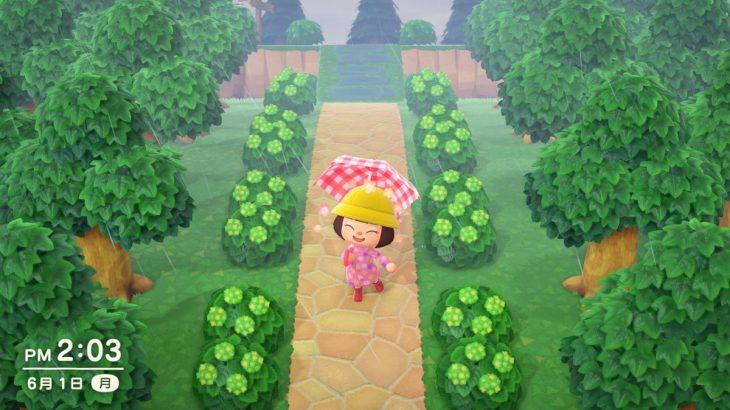 【あつ森】アジサイが緑色の変な花で悲しい…植え方失敗した?→明日咲くよ(色んなまとめ)