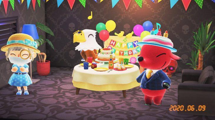 【あつ森】6月9日はロックの日でパンクスの誕生日!おめでとうー!(色んなまとめ)