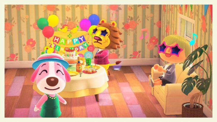 【あつ森】6月18日はペリーヌの誕生日!おめでとう~!!(色んなまとめ)