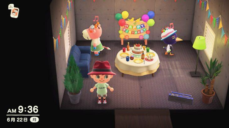 【あつ森】6月22日はジョッキーの誕生日!おめでとう~☆(色んなまとめ)