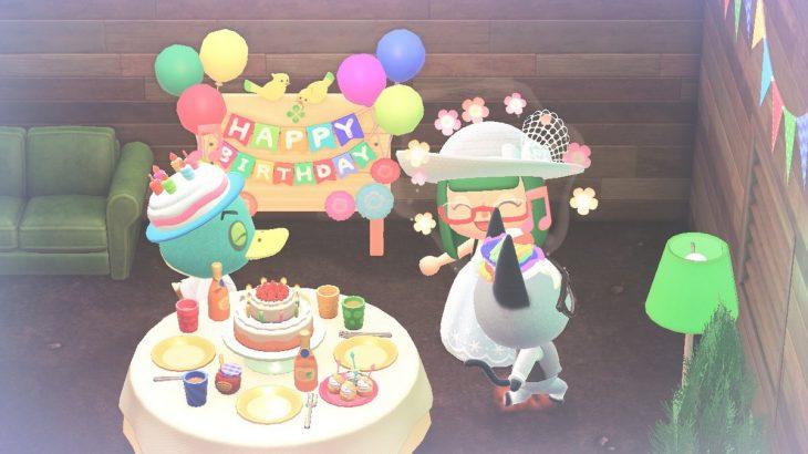 【あつ森】6月25日はフォアグラの誕生日!おめでとう☆☆☆(色んなまとめ)