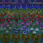 【あつ森】花全種使ってグラデ花畑作ったんだけどどうかな?【良センス】(色んなまとめ)