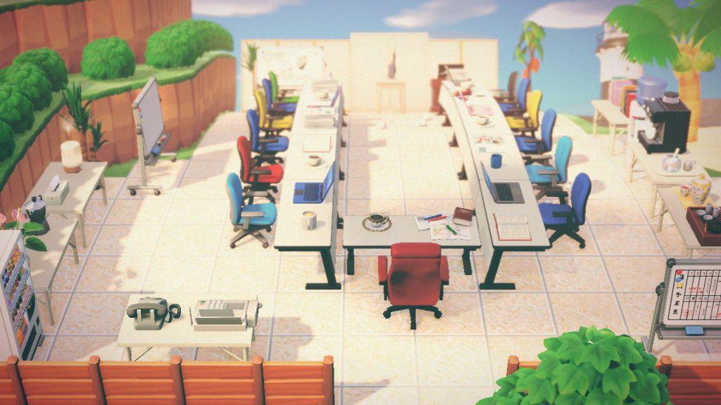 【あつ森】オフィス作ってみた!→面白いけど〇の時は…?(色んなまとめ)