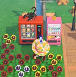 【あつ森】えっ!?自販機の上にも家具のせられるの!?(色んなまとめ)