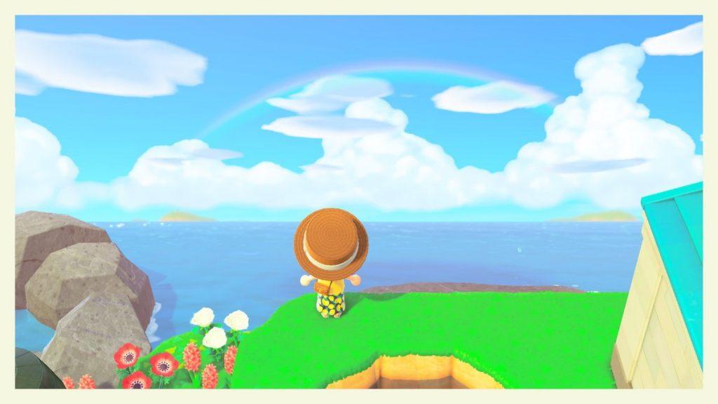 【あつ森】空に入道雲が出てる!すっごく夏っぽくなってきたー!(色んなまとめ)