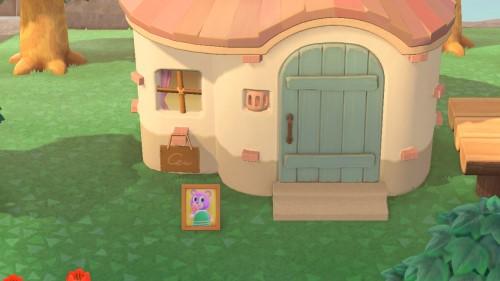 【あつ森】住民の家の前に写真飾ると便利だよ!引っ越したら〇〇に飾れるし→その発想はw(色んなまとめ)