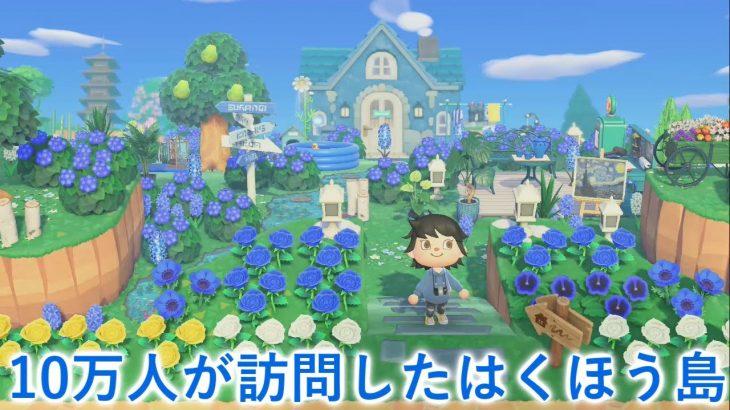 【あつ森】10万人が訪れた青のはくほう島が幻想的すぎた【あつまれどうぶつの森】(みねっと)