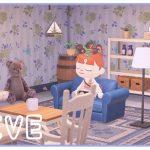 【あつ森】まったりお部屋作り*白と青の家具を使ったお部屋【あつまれどうぶつの森/シュガートース島/びすけっ島/しゃちくるみ/くるみ】(くるみ)