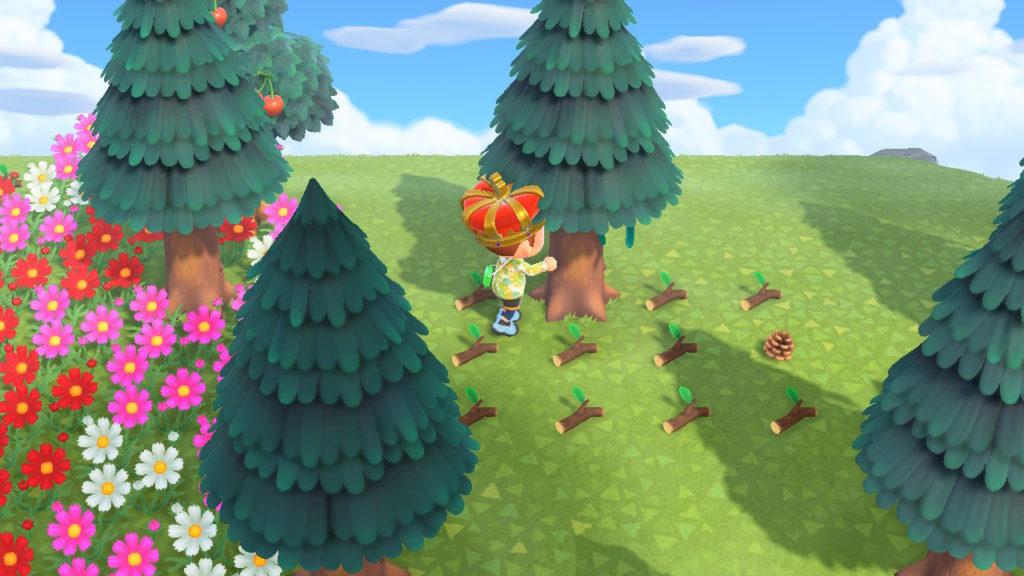 【あつ森】木の実全然出ない…→1本の木を揺らし続ければ延々と出るよ(色んなまとめ)