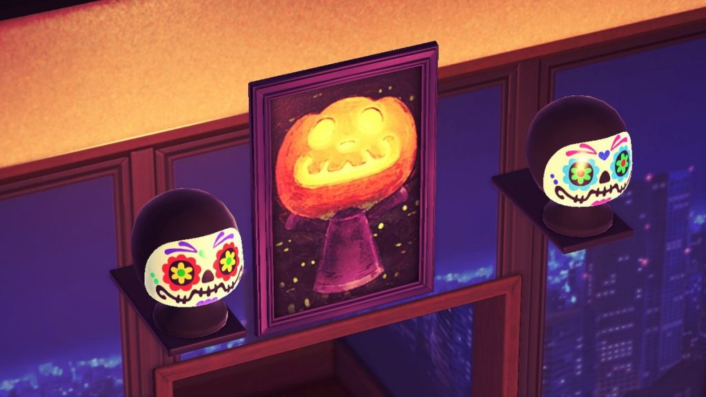 【あつ森】10月1日にパンプキングから「パンプキングのしょうぞうが」が贈られてきた!しかもギミックあるぞ!!(色んなまとめ)