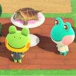 【あつ森】カエル住民に「とうみんしたい」って言わせたらハマりすぎたw(色んなまとめ)