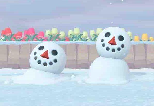 【あつ森】雪だるまが溶けていって「最後のプレゼントだス…」て言われるの切ないよね…(色んなまとめ)