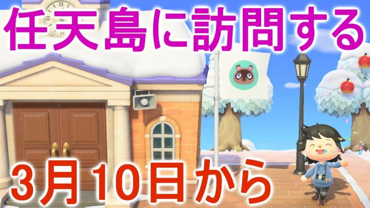 【あつ森】3月10日以降に任天島に訪問するだけで参加出来るチャレンジがあるぞ!【あつまれどうぶつの森】