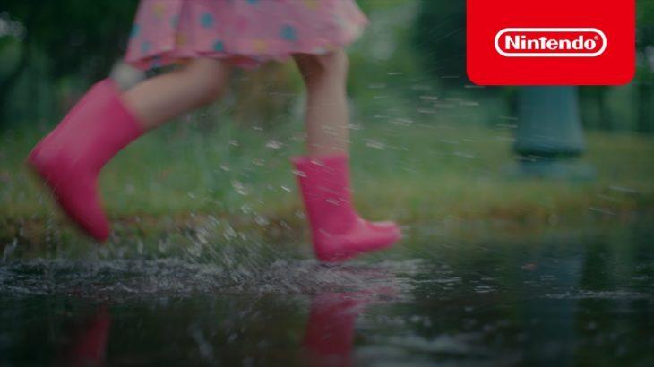 あつまれ どうぶつの森 CM 雨の日篇