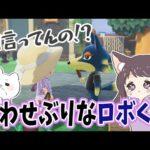 【あつ森】ロボくん…思わせぶりな行動と発言が多すぎませんか!?(かわいすぎる)【あつまれどうぶつの森/Animal Crossing】【実況/くるみ/しゃちく/しゃちくるみ】